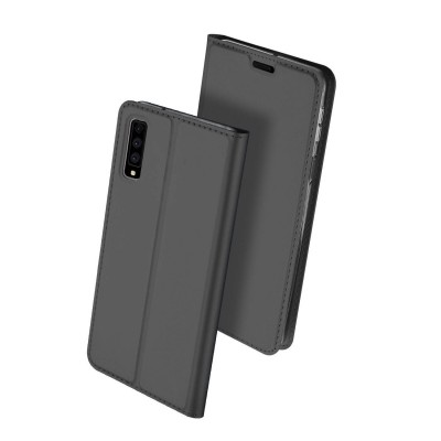 Duxducis SkinPro Flip Θήκη για Samsung Galaxy A7(2018) - Gray (200-103-159)