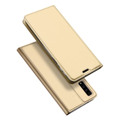 Duxducis SkinPro Flip Θήκη για Samsung Galaxy A7(2018) - Gold (200-103-183)