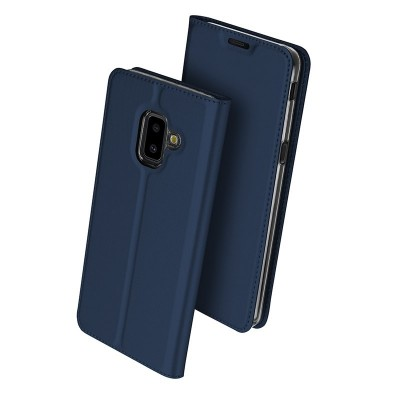 Duxducis SkinPro Flip Θήκη για Samsung Galaxy J6+(Plus) -Blue (200-103-187)