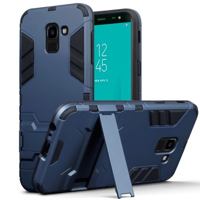 Terrapin Ανθεκτική Dual Layer Θήκη Samsung Galaxy J6 2018 - Blue (131-002-084)