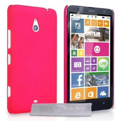 Θήκη για Nokia Lumia 1320 by YouSave Accessories ροζ και δώρο screen protector