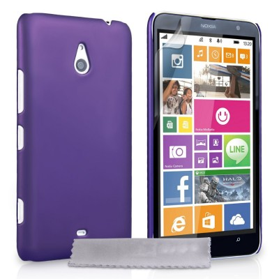 Θήκη για Nokia Lumia 1320 by YouSave Accessories μωβ και δώρο screen protector
