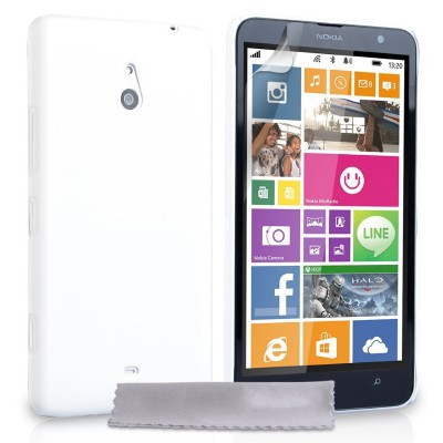 Θήκη για Nokia Lumia 1320 by YouSave Accessories λευκή και δώρο screen protector