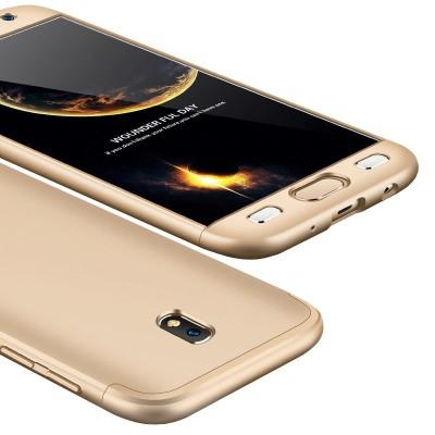 Full Body θήκη για Samsung Galaxy J7 (2017) χρυσή -OEM (200-102-752)