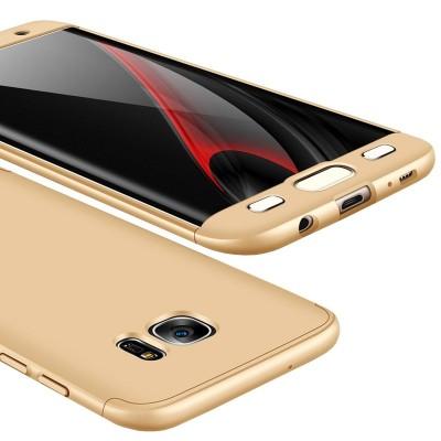 Full Body θήκη για Samsung Galaxy S7 Edge χρυσή -OEM (200-102-748)