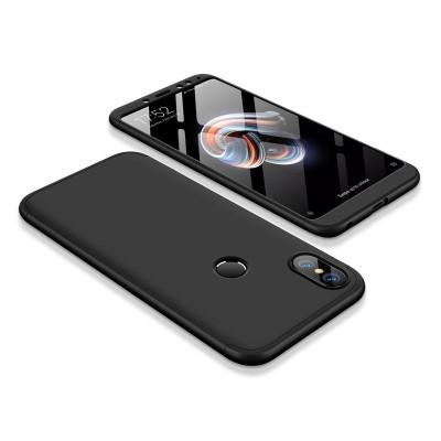 Full Body θήκη για Xiaomi Redmi Note 5 μαύρη OEM (200-103-198)