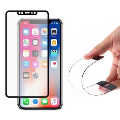 Wozinsky Full Cover Flexi Tempered Glass Black Edge για iPhone XS/X (200-103-122)