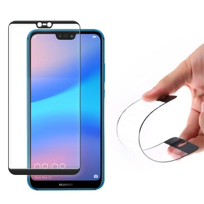 Wozinsky Full Cover Flexi Nano Tempered Glass Black Edge για Huawei P20 Lite (200-104-793)