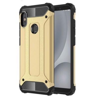Ανθεκτική Θήκη Tech Armor για Xiaomi Redmi Note 5/Note 5 Pro Gold - OEM (200-102-991)