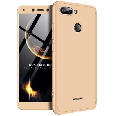 Full Body θήκη για Xiaomi Redmi 6 χρυσή OEM (200-103-256)