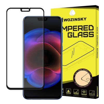 Wozinsky Full Cover Tempered Glass Black για Huawei Honor 8X (200-103-265)