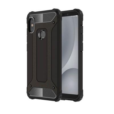 Ανθεκτική Θήκη Tech Armor για Xiaomi Mi A2 Lite / Redmi 6 Pro Black - OEM (200-103-329)