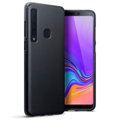 Terrapin Θήκη Σιλικόνης Samsung Galaxy A9 2018 - Solid Black Matte Finish (118-002-722)