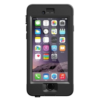 LifeProof ανθεκτική και αδιάβροχη θήκη για iPhone 6 / 6s nuud Black (77-52569)
