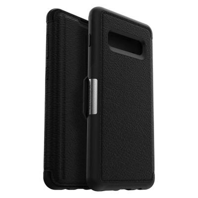 OtterBox Galaxy S10 Strada Folio Shadow Black (77-61358)