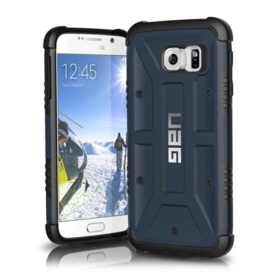 UAG Θήκη Feather-Light Composite Samsung Galaxy S6 - Blue (UAG-GLXS6-SLT-W/SCRN-VP)