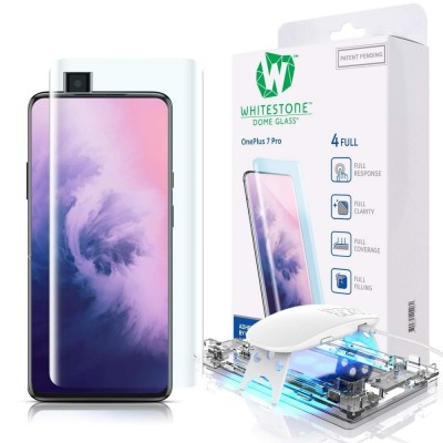 Whitestone Dome Glass - Liquid Optical Clear Adhesive & Installation Kit - Σύστημα προστασίας οθόνης Oneplus 7 Pro ( 200-104-193)