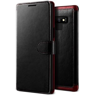 Verus Δερμάτινη Θήκη Πορτοφόλι Samsung Galaxy Note 9  - Black (200-103-232)