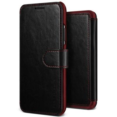 Verus Δερμάτινη Θήκη Πορτοφόλι iPhone Xs Max - Black (200-103-234)