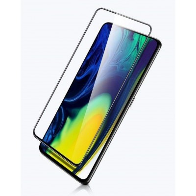 OEM Full Glue Tempered Glass 5D για Xiaomi Redmi Note 8 - Black (200-104-582)