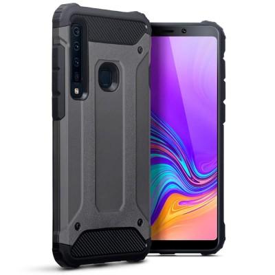 Terrapin Ανθεκτική Θήκη Double Layer Impact Samsung Galaxy A9 2018 - Grey (131-002-116)