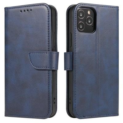 OEM θήκη πορτοφόλι για Huawei P40 Lite E - Blue (200-107-639)