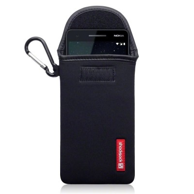 Shocksock Θήκη - Πουγκί Nokia 2.1 - Black (121-001-009)
