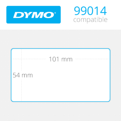 DYMO Shipping Labels 54mm x 101mm 220 τεμ (99014)