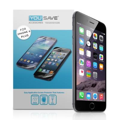 Μεμβράνη Προστασίας Οθόνης iPhone 6 Plus/6S Plus by Yousave - 5 Τεμάχια