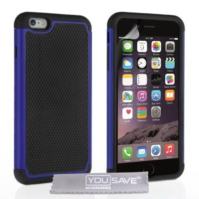 Ανθεκτική Θήκη για iPhone 6 Plus/ 6S Plus by Yousave με δώρο screen protector