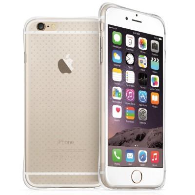 Διάφανη θήκη σιλικόνης για iPhone 6 Plus/ 6S Plus by YouSave και screen protector
