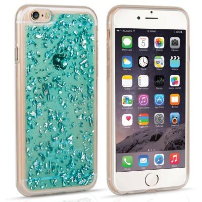 Θήκη σιλικόνης για iPhone 6/6s Tinfoil blue by Caseflex (200-102-177)