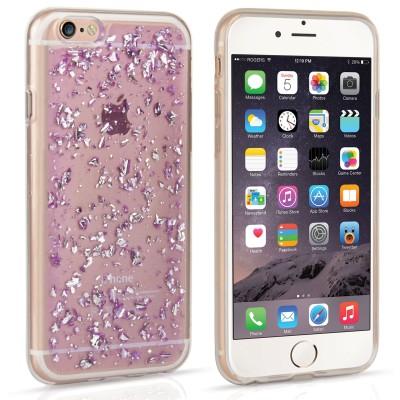 Θήκη σιλικόνης για iPhone 6/6s Tinfoil purple by Caseflex (200-102-176)