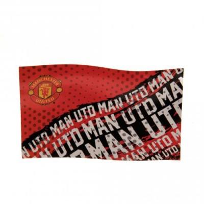 Σημαία Manchester United F.C - επίσημο προϊόν (100-100-152)