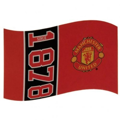 Σημαία Manchester United F.C - επίσημο προϊόν (100-100-646)