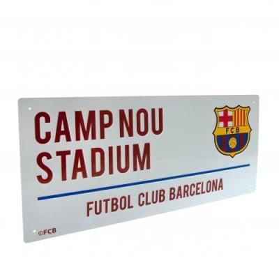 Μεταλλική διακοσμητική πινακίδα Barcelona F.C (100-100-130)