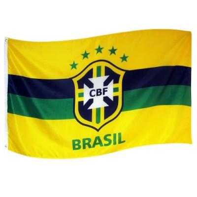 Σημαία Βραζιλίας -επίσημο προϊόν  (100-100-155)