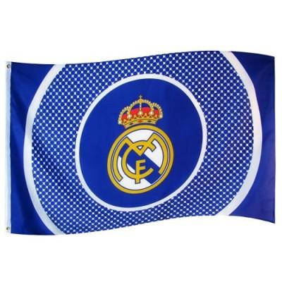 Σημαία Ρεαλ Μαδρίτης - Επίσημο προϊόν (100-100-211)