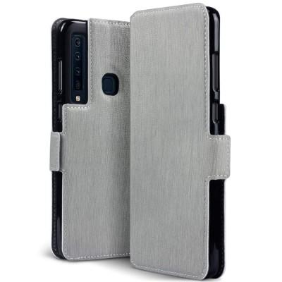 Terrapin Low Profile Θήκη - Πορτοφόλι Samsung Galaxy A9 2018 - Grey (117-002a-085)