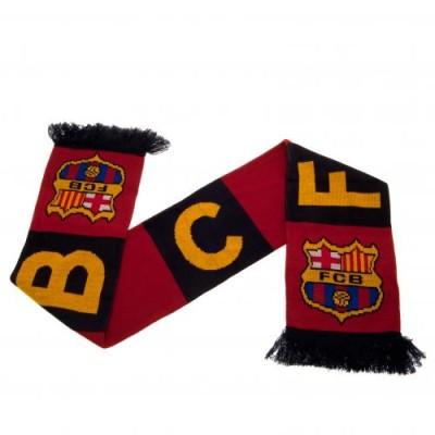 Κασκόλ Barcelona F.C.B -  Επίσημο προϊόν ( 100-100-103)