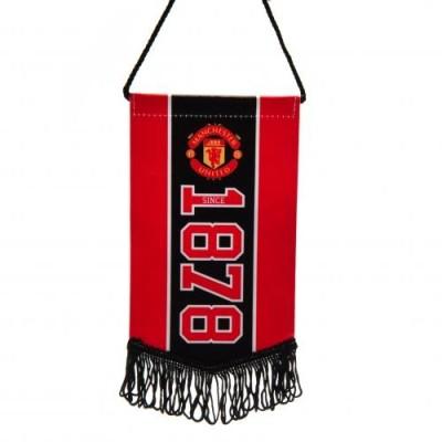 Μίνι Λάβαρο Manchester United F.C - Επίσημο Προϊόν (100-100-757)