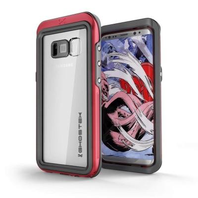 Ghostek Atomic 3 Αδιάβροχη Θήκη Samsung Galaxy S8 Plus - Red (CA-GHOCAS613-00)