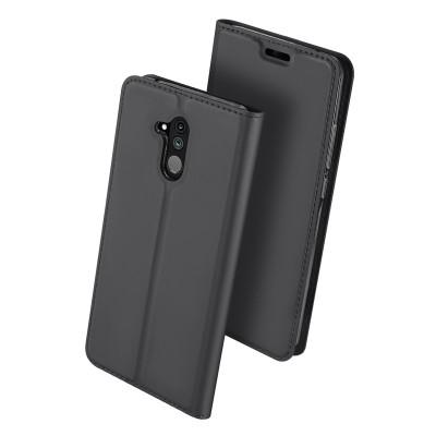 Duxducis SkinPro Flip Θήκη για Huawei Mate 20 Lite -Gray (200-103-072)