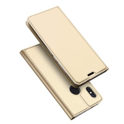 Duxducis Θήκη - Πορτοφόλι Xiaomi Redmi Note 6 Pro - Gold (200-103-167)