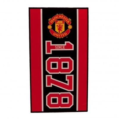 Μεγάλη Πετσέτα Manchester United F.C 140x70 cm - επίσημο προϊόν  (100-100-645)
