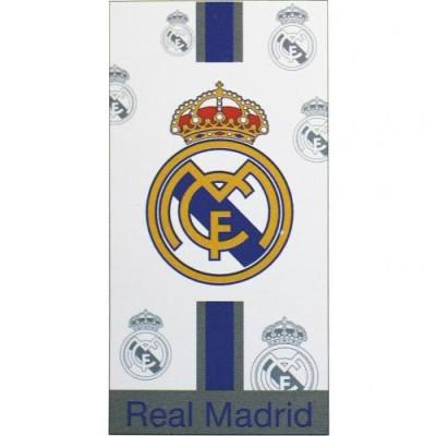 Πετσέτα μεγάλη Real Madrid λευκή - Επίσημο προϊόν (100-100-670)