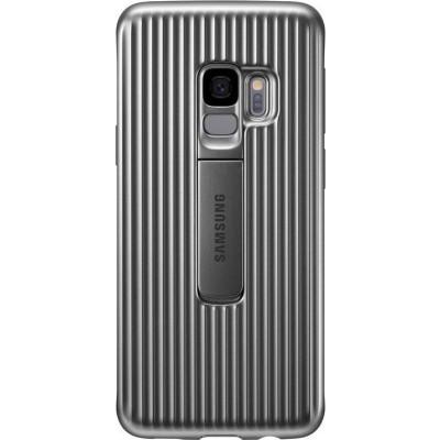 Samsung Official Protective Standing Cover - Θήκη Samsung Galaxy S9 - Silver (EF-RG960CSEGWW)