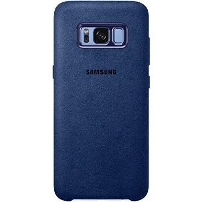 Official Alcantara Σκληρή Θήκη Samsung Galaxy S8 Plus - Blue (EF-XG955ALEGWW)