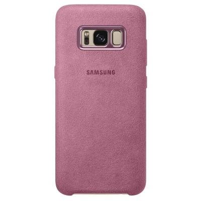 Official Alcantara Σκληρή Θήκη Samsung Galaxy S8 Plus - Pink (EF-XG955APEGWW)