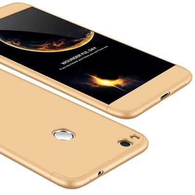 Full Body θήκη για Huawei P8/P9 Lite 2017 χρυσή OEM (200-102-798)
